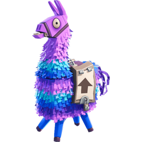 Fortnite Supply Llama PNG