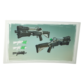 Fortnite Tactical Shotgun PNG
