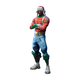 Fortnite Yuletide Ranger PNG