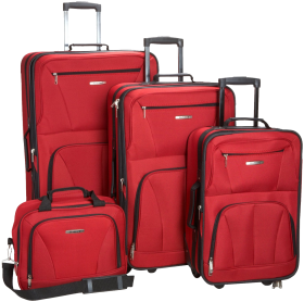 Four Suitcase PNG