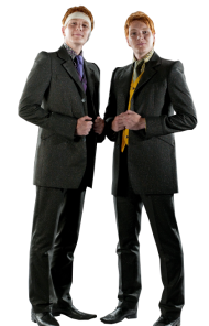 Fred and George Harry Potter PNG