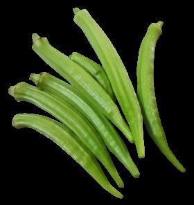 Fresh Okra PNG