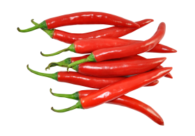 Fresh Red Chillies PNG