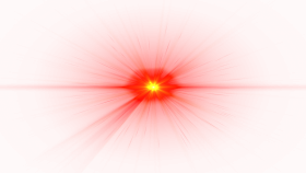 Front Red Lens Flare PNG
