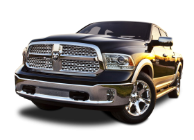 Front View of Dodge Ram 1500 Car PNG