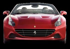 Front View of Ferrari California T Car PNG