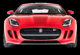 Front View of Jaguar F Type R Car PNG