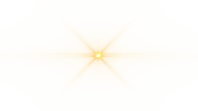Front Yellow Lens Flare PNG