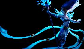 Frost queen Janna skin PNG