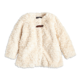 Fur Coat White PNG