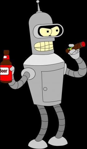Futurama Bender PNG