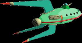 Futurama Ship PNG