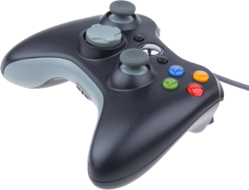 Xbox 360 Grey Controller PNG