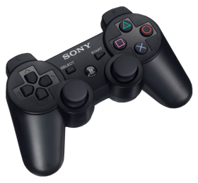 PlayStation 3 Controller Black PNG