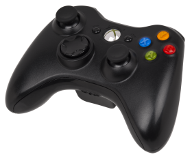 Xbox 360 Controller Classic Black PNG