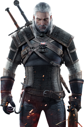 Geralt Of Rivia PNG