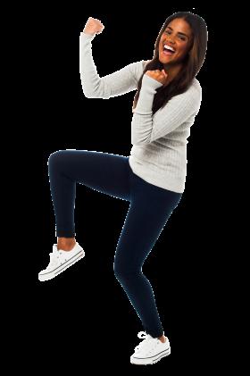 Girl Dancing PNG