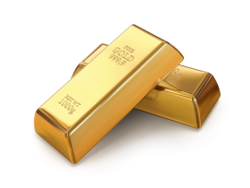 Two Gold Bars PNG