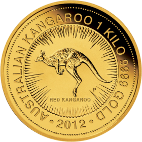 Gold Coin Kangaroo PNG