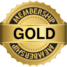 Gold Membership PNG