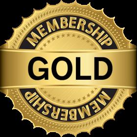 Gold Membership PNG