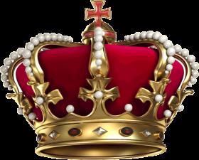 Gold Crown Korona PNG