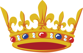 Gold Crown Korona PNG