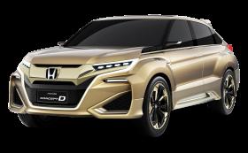 Gold Honda Concept D Car PNG