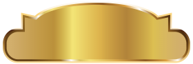 Gold  Label Template PNG