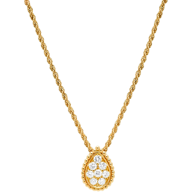 Gold Pendant PNG