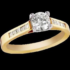 Gold Ring Diamond PNG