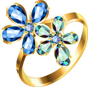 Gold Ring PNG