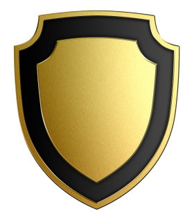 Gold Shield PNG