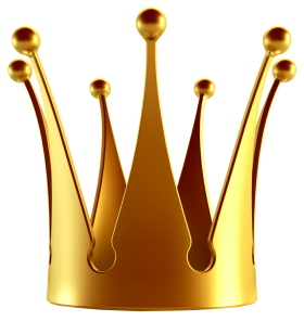 Golden Crown PNG