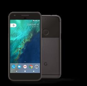 Google Pixel 1 Black PNG