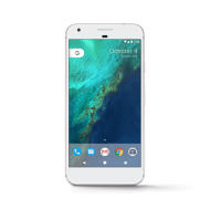 Google Pixel 1 White PNG