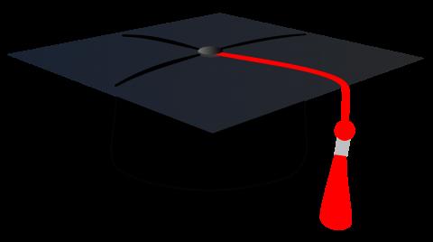 Graduation Cap Clipart PNG