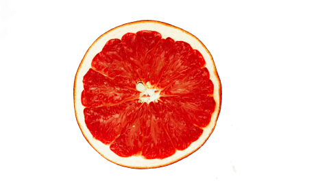Grapefruit Halved PNG