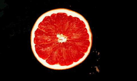 Grapefruit Halved PNG