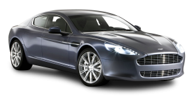 Gray Aston Martin Rapide Luxury Car PNG