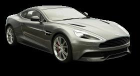 Gray Aston Martin Vanquish Car PNG