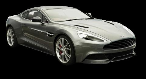 Gray Aston Martin Vanquish PNG