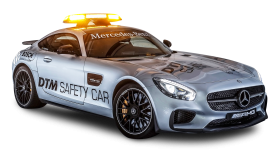 Gray Mercedes AMG GTS Safety Car PNG