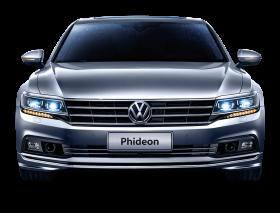 Gray Volkswagen Phideon Front View Car PNG