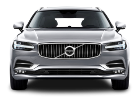 Gray Volvo V90 Car PNG