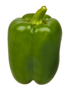 Green Bell Pepper PNG