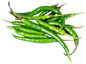 Green Chili Peppers PNG