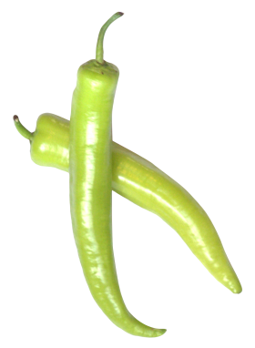 Green Chili Pepper PNG