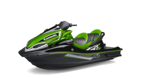 Green Jet Ski PNG