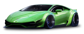 Green Lamborghini Huracan LP640 4 Superleggera Car PNG